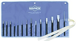 14 Pc. Punch & Chisel Set-2pack by Mayhew Tools