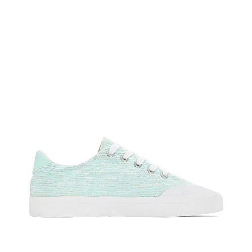 La Redoute Collections Frau Sneakers, Blaue Sohle Gre 38 Weiss