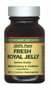 Fresh Royal Jelly - 100% Pure Fresh Royal Jelly 60,000 mg YS Eco Bee Farms 2.0 oz Liquid