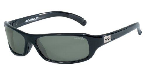 8eee260dcf1bc Bolle Sport Fang Sunglasses (Shiny Black Polarized TNS) - Import It All