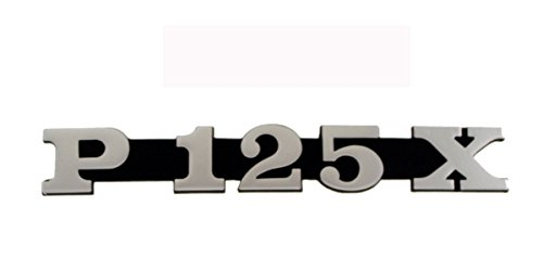 RMS Targhetta cofano p125x Bonnet plate p125x