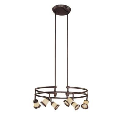 Linear Track Lighting Floating 4h x 1w x 4d Black And White