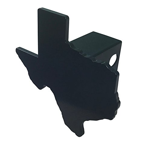 Texas Heavy Duty Black Hitch Cover