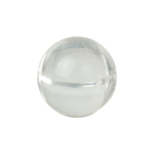 3/4'' Acrylic Solid Plastic Balls for Check Valves (20 Balls) by Craftics