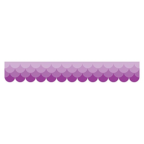 Creative Teaching Press Ombre Purple Scallops Borders (0184)