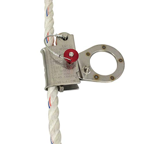 RK Fall Protection VF505 5/8-Inch Automatic Energy Absorbing Rope Grab by RK Industries Group, Inc (Image #1)