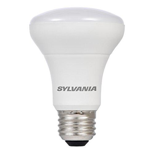 (SYLVANIA LED R20 Reflector Lamp 6W (50W equivalent), Medium Base (E26/24), Warm White (2700K),  525 lumen, 1-pack)