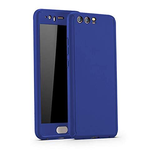 Huawei P10 Funda 3 en 1 Bumper Carcasa Protective Case Dura rígida PC ultrafina Slim Fit Dactilares Protectora Caso pour Huawei P10