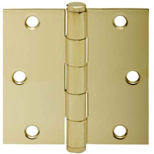 (SCHLAGE Lock CO SC3P1010F-605E BB SQ Corn Hinge, 3.5-Inch, 3-Pack)