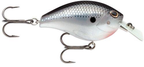 Storm Arashi Rattling Square 03 Fishing Bait, Black Silver Shad