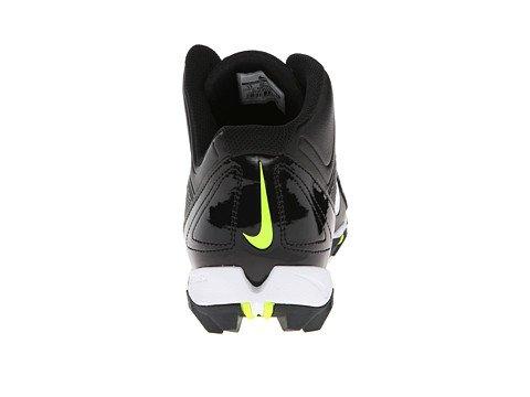 Nike Mens Alfa Haj 3/4 Svart / Svart / Volt / Vit 10 Ee - Bred