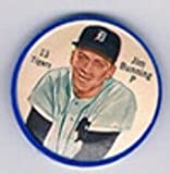 1962 salada tea coins (Baseball) Card# 13 jim bunning of the Detroit Tigers ExMt Condition