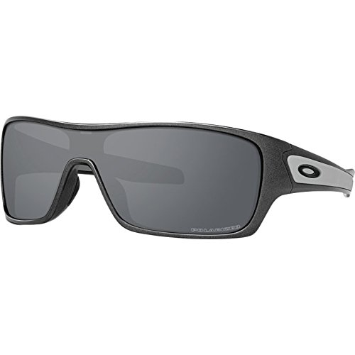 5f7406adea Galleon - Oakley Men s Turbine Rotor Polarized Iridium Rectangular  Sunglasses