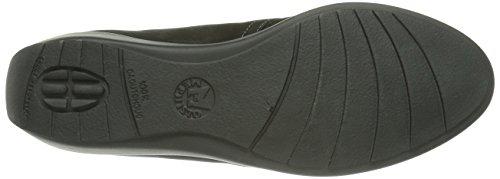 Noir salima Nubuck 6900 Bottine Mephisto femme chaussure tqwS00
