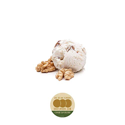 OOOFlavors Butter Pecan Ice Cream Flavored Liquid Concentrate Unsweetened (10 ml)