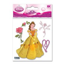 Disney(R) Dimensional Stickers - Belle With Rose