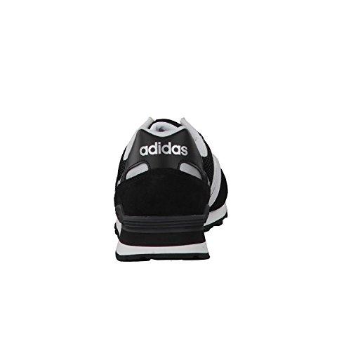 adidas NEO Herren 10k Low-Top Schwarz (Negbas/ftwbla/plamat)