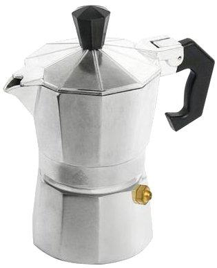 Home Mokita Kaffeemaschine, Kunststoff, Silber/Schwarz, Bis zu 2 Tassen 8003512307607