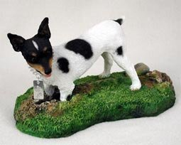 Rat Terrier Figurine - MyDog by Conversation Concepts - Figurine Rat Terrier