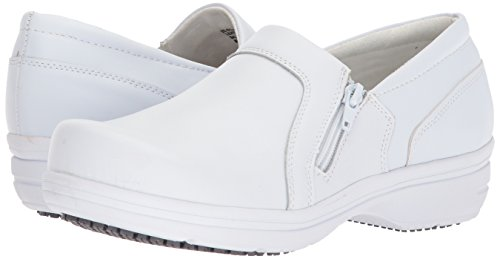 Easy Works Women's Bentley Health Care Professional Shoe, White, 8.5 M US by Easy Works (Image #6)