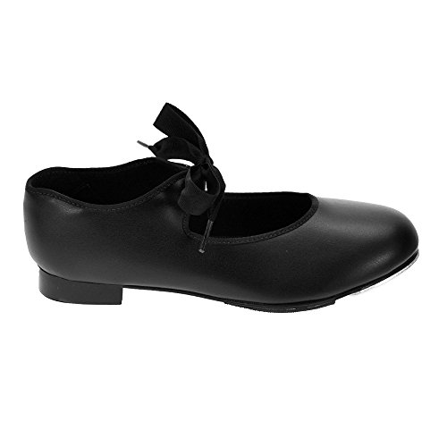 Black Heel Shoes Capezio Low Medium Tap 925 Fit 4ngOp