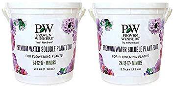 Premium Water Soluble Fertilizer, 2.5 lb. Container (Twо Pаck)