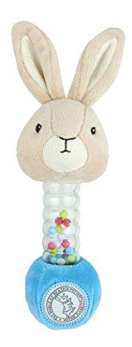 Rabbit Plush Rattle - Beatrix Potter, Peter Rabbit Stick Rattle Plush
