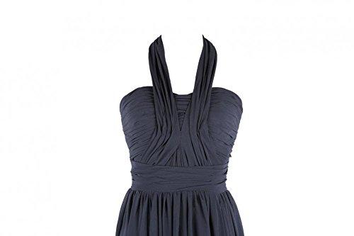 YiYaDawn - Vestido - trapecio - para mujer Púrpura