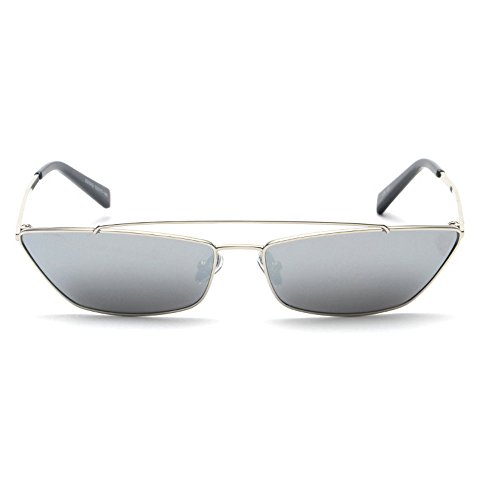 MINCL/ Hot Sale Fashion Vintage Cateye Sunglasses For Women Red Yellow Lens Shades UV400 (silver - Hot Sunglasses Sale