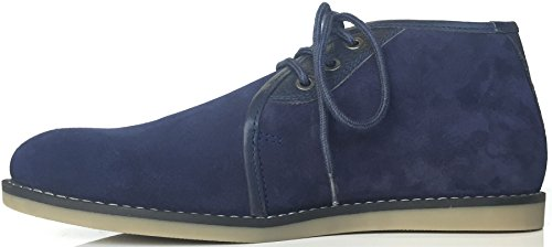 Zapatos De Lona Original De Penguin Legal Blue Suede Desert Para Hombre