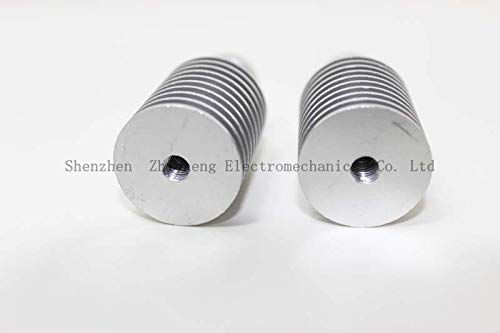 Ochoos New Superior Radiator Straight Threads for 1.75 mm and 3.0 mm 3D V6 j-Head of Wade Extruder Accessories Short distanc