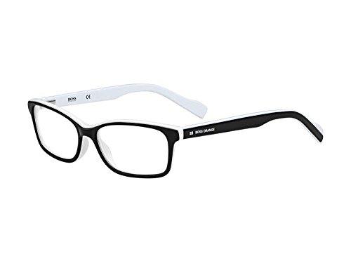 Boss Orange eyeglasses BO 0173 ZLM Acetate Black - White