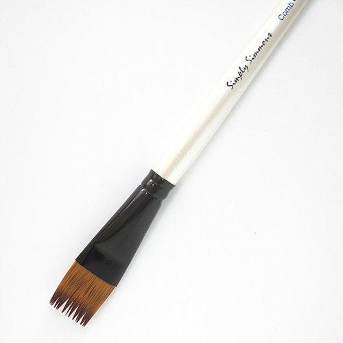 (Robert Simmons Simply Simmons Brushes Short Handle flat comb 5/8 in. )