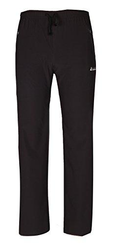 Mens Elastic Waist Stretch Travel Pants product image