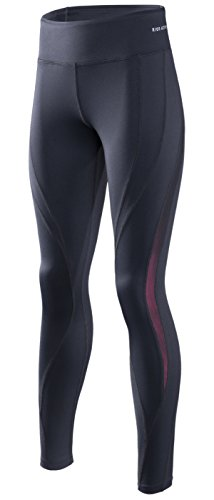 RION Active Women's Workout Yoga Running Compression Tights Tummy Control Leggings – DiZiSports Store