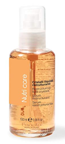 Frizz Remover - Fanola Nutri Care 100 mL Restructurin Fluid Crystals