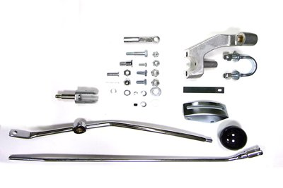 (V-Twin Manufacturing Police Style Jockey Shift Kit 22-0711)