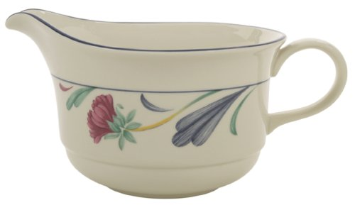 Lenox Poppies on Blue Chinastone Sauceboat ()