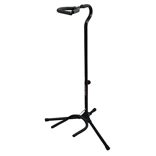 On-Stage GS7153B Flip-It Guitar Stand, Black