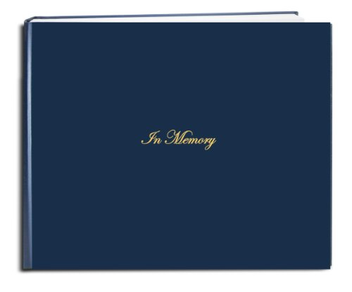 BookFactory Funeral Guest Book