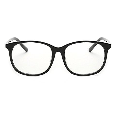 cuadradas C1 transparentes FuyingdaGlasses Moda para plásticas retro Gafas Lentes Hombres Mujeres vqpwxqA0