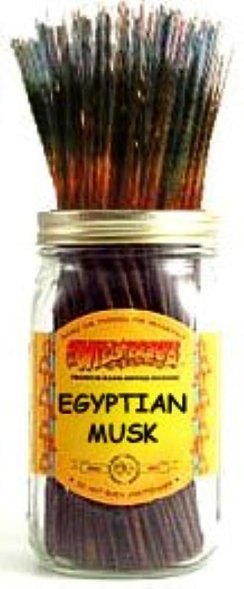 先見の明険しい活気づけるEgyptian Musk – 100ワイルドベリーIncense Sticks