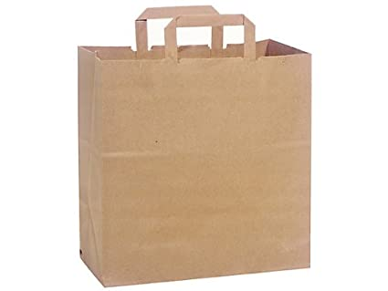 100 Recycled Brown Paper Bags