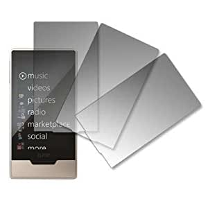 Premium Crystal Clear Screen Protectors for Microsoft Zune HD 16 GB-3 Pack