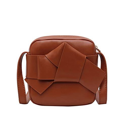 - Bsjmlxg Women's Fashion Pure-colour Slant Bag Single Shoulder Bag Purse Messenger Bag Makeup Travel Bussiness
