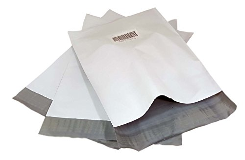 iMBAPrice Poly Mailers Shipping Envelopes Bags - 10 x 13 - inches - 100 Bags (White)