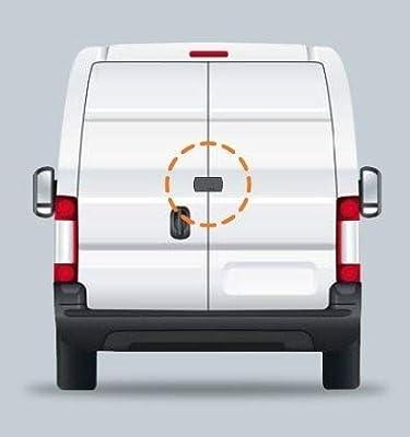 Juego de 2 cerraduras antirrobo VANLOCK TOKOZ para vehículos industriales | Cierre automático | Especialmente diseñado para transportadores (Blanco): Amazon.es: Coche y moto