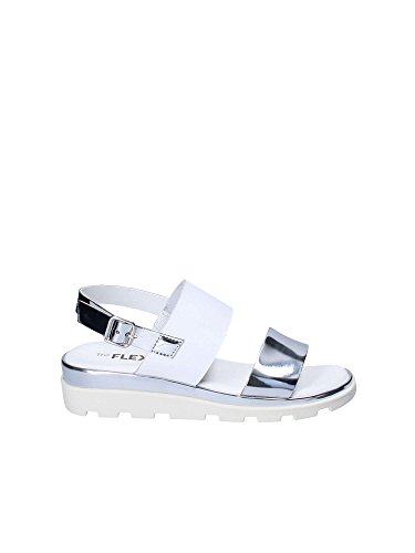 The Flexx Shoes Woman Sandals D1507_19 Samantha ORO White yOAHEC30
