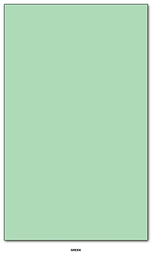 20lb. Color Paper Size 8.5'' X 14'' - 5000 / Case (Green) by S Superfine Printing