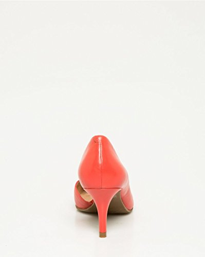 for nice shop for for sale LE CHÂTEAU Women's Leather Half D'Orsay Pump Coral Y1KbOn